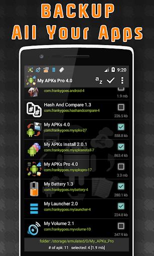 My APKs Pro - backup manage apps apk advanced  screenshots 1