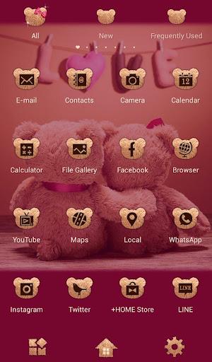 Cute Theme Teddy Bear Couple 1.0.1 Windows u7528 3