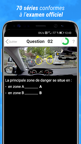 Code de la route 2019 Android App Screenshot