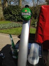 Photo: Heineken is for sale everywhere, even at Keukenhof
