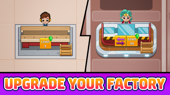 Idle Factory Tycoon MOD Apk 2.3.0 (Unlimited Coins) 2