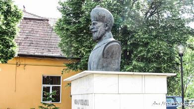 Photo: Bustul lui Mihai Viteazu Comuna Mihai Viteazu, jud. Cluj - Str. Principala (2013.05.10)