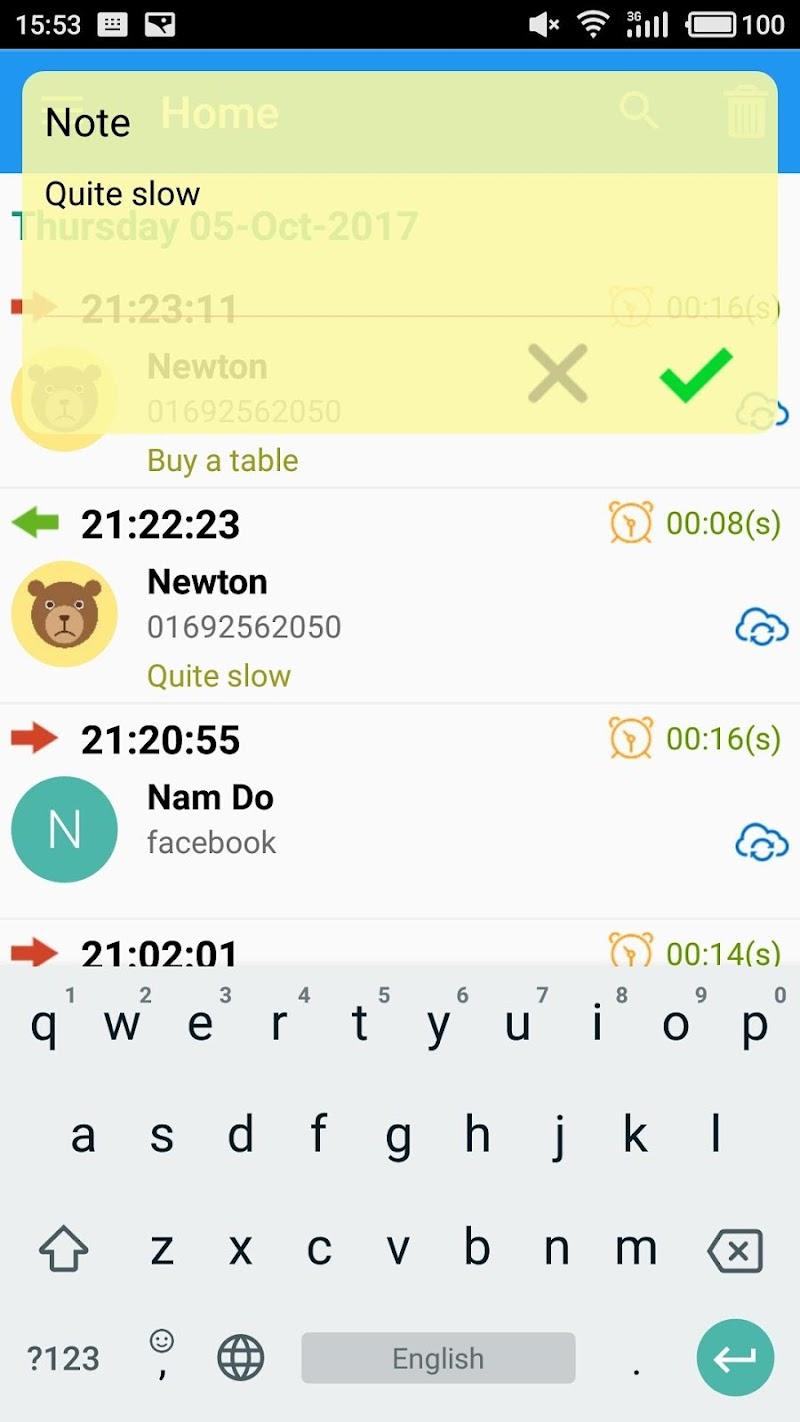 PRO Note Call Recorder Screenshot 6