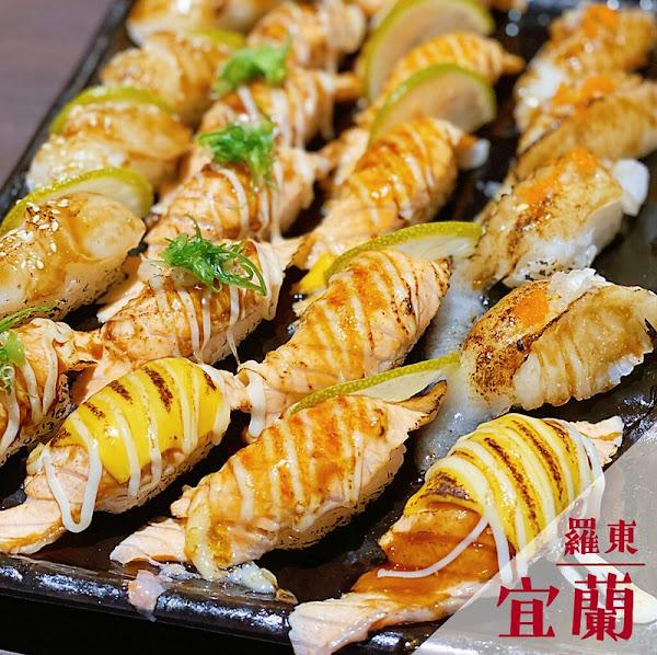 耕壽司 (羅東店) 排排站的炙燒壽司視覺大滿足!預先訂位確保用餐最高品質 (完整菜單)