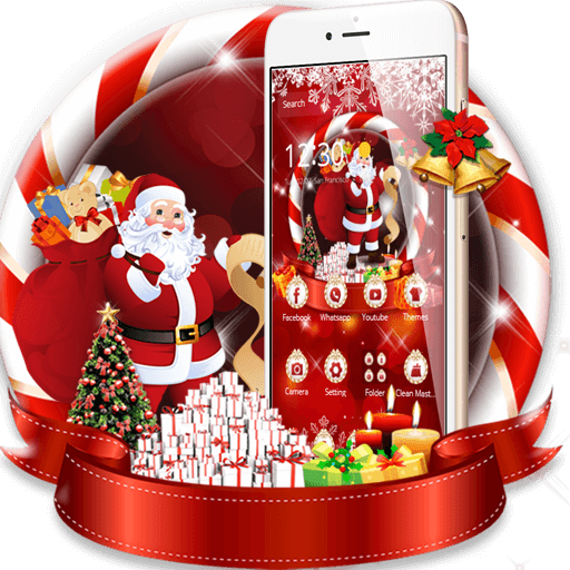 Santa Claus Christmas Theme (app)