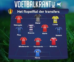 Nog vier speeldagen te gaan, dit elftal floptransfers kon (vooralsnog) niet slagen in de Jupiler Pro League