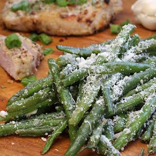 Crisp Garlic Parmesan Green Beans.