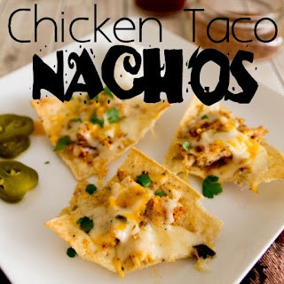 Chicken Taco Nachos.