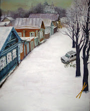 Photo: 冬の町 / canvasF40, acryl, 2006