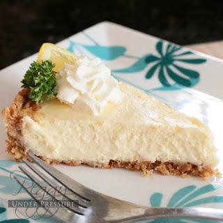 Pepper Jelly Lemon Cheesecake {Electric Pressure Cooker Recipe}
