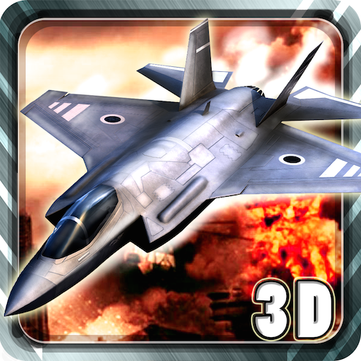 模拟のJet Fighter 3D Battle LOGO-記事Game
