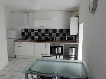 Appartement meublé 3 pièces 44,35 m2