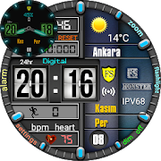 Monster Digital Watch Face For WatchMaker Users