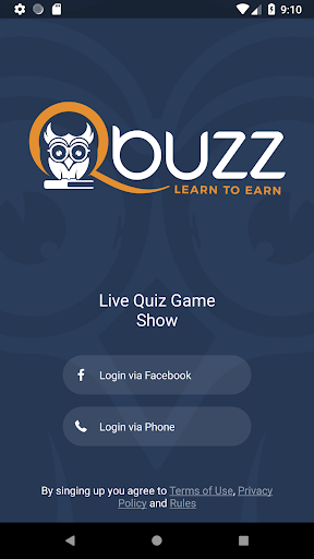 Qbuzz - Live Trivia Game Show (Beta)  captures d'u00e9cran 1