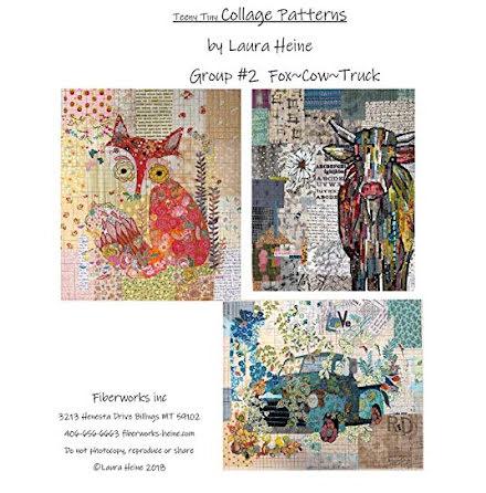 Teeny Tiny Collage Mönster från Laura Heine (13111)