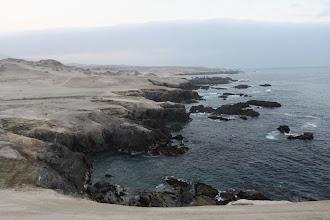 Photo: Vista de la costa desde Carrizales en dirección a Matarani Quilca - Matarani 23-25 de Nov. (2013)