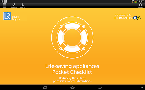 LSA Pocket Checklist- screenshot thumbnail