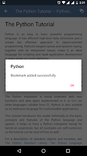 Python Documentation Screenshot