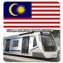 Malaysia Kuala Lumpur Subway icon