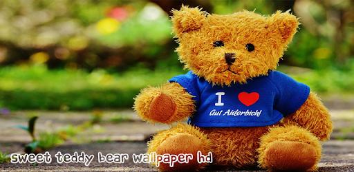 sweet teddy bear wallpaper hd apps on google play