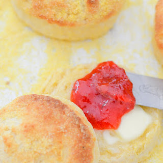 Buttery Cornmeal Biscuits.