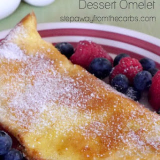 Low Carb Dessert Omelet Recipe