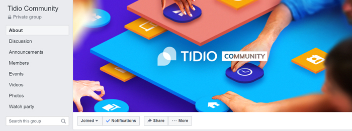 tidio community
