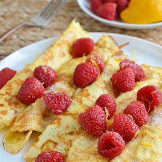 Low Syn Crepe Style Pancakes.
