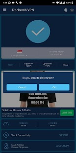 Darkweb VPN Screenshot