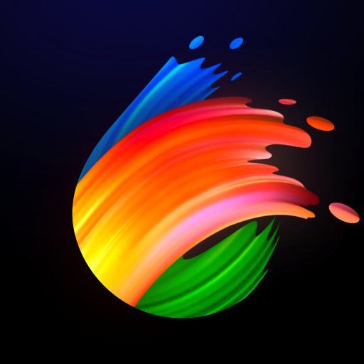 Jolly Paint: Coloring Book Icon