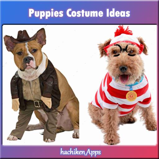 子犬コスチュームアイデア 生活 App LOGO-硬是要APP