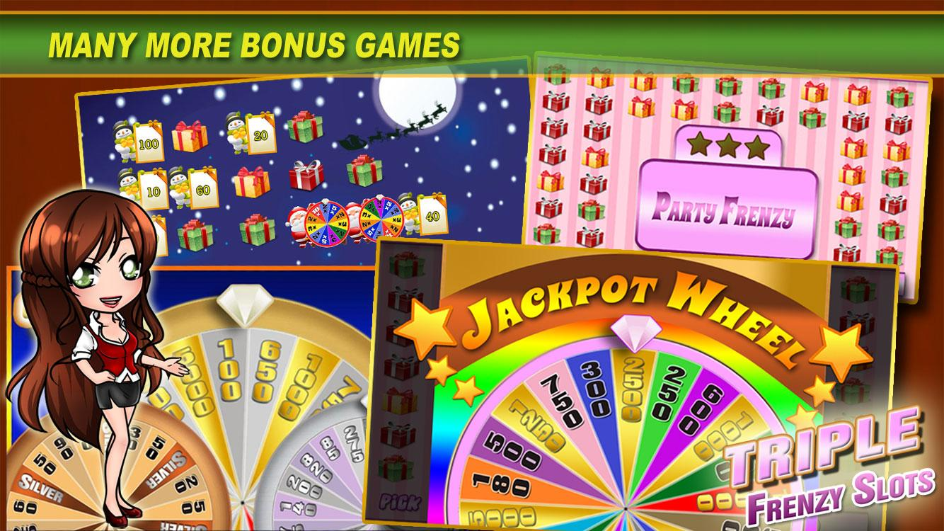 Triple Frenzy - FREE Slots- screenshot