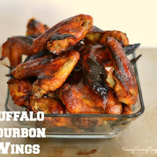 Buffalo Bourbon Chicken Wings Recipe *With Rave Review! Culinary Blended Bourbon™