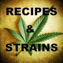 Weed Recipes and Strains icon