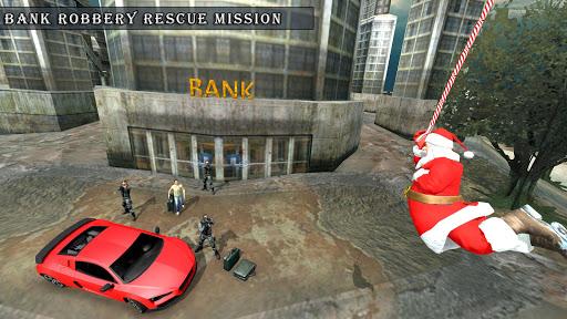 Crime City Simulator Santa Claus Rope Hero android2mod screenshots 1