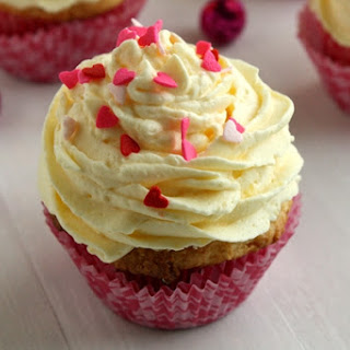 Three Ingredient Cupcakes with Whipped Pudding Frosting Recipe
