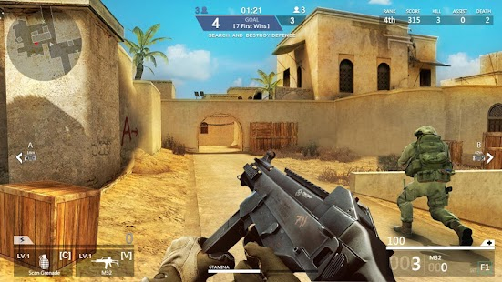 Counter Shooter Mission War Ekran Görüntüsü