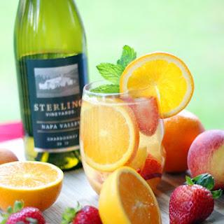 Sparkling White Wine Summer Sangria