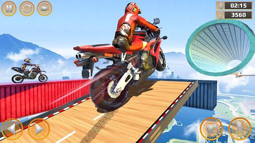 Mega Ramp Impossible Tracks Stunt Bike Rider Games 2.9 screenshots 8