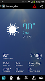 1Weather:Widget Forecast Radar Screenshot 6