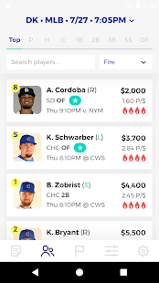 RotoQL Express - Daily Fantasy Tool- screenshot thumbnail