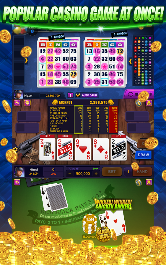 Casino Live - Bingo,Slots,Keno- screenshot