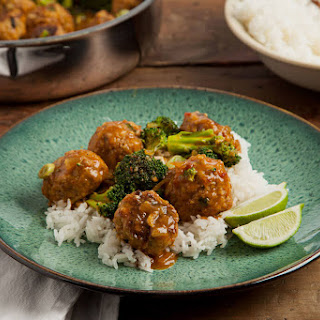 Coconut Curry Turkey Meatball Skillet