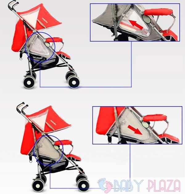 Xe đẩy trẻ em Seebaby S02, Seebaby S02