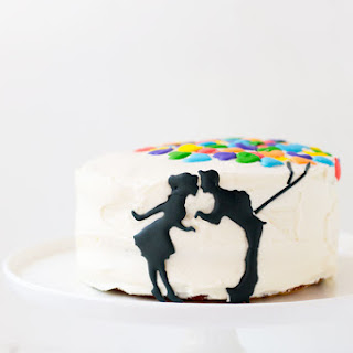 Up Inspired Anniversary Cake