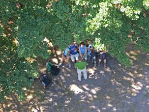 Photo: la tour du Wintersberg, il y en a qui sont restés en bas !