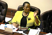 KZN's cooperative governance and traditional affairs MEC Nomusa Dube.
