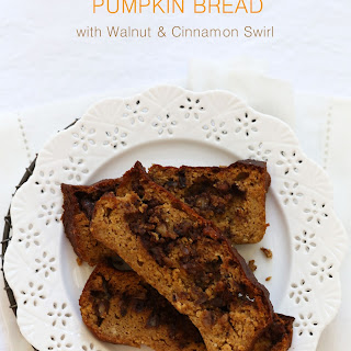 Gluten Free Pumpkin Bread with Streusel