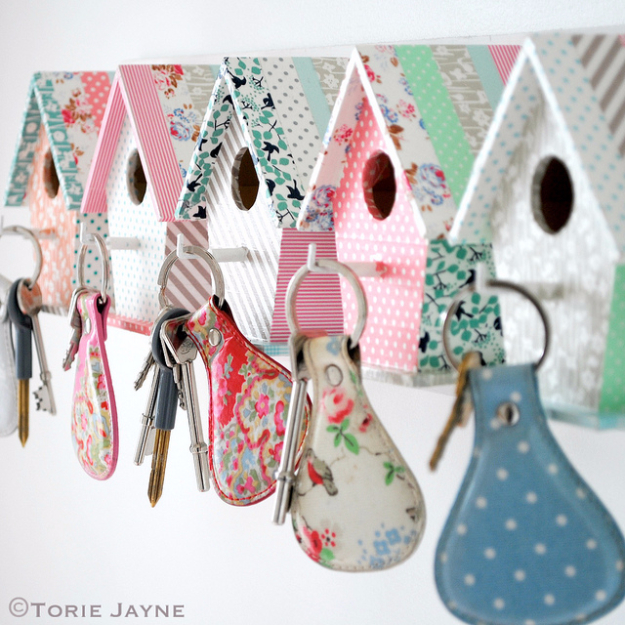 bird house key hooks, a craft that makes money