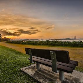 Hope by Sherry Zhao - Landscapes Sunsets & Sunrises ( pwcsunbeams-dq )